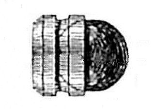 Sabot (firearms) ammunition component for holding sub-caliber projectiles aligned
