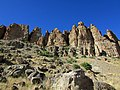 Palisades of Clarno at John Day Fossil Beds in Oregon 1.jpg