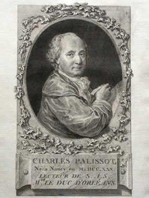 Charles Palissot de Montenoy - Image: Palissot