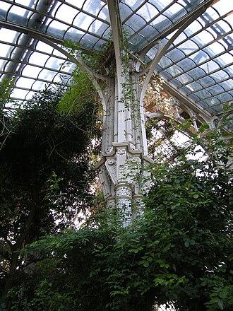 Palmenhaus Schönbrunn - Tree-shaped cast-iron column