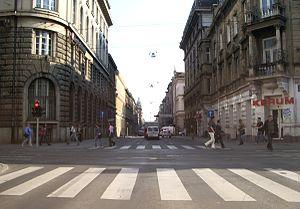 Operation Labrador - Palmotićeva Street in Zagreb