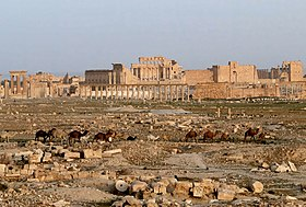 Palmyra and Temple of Bel көрінісі