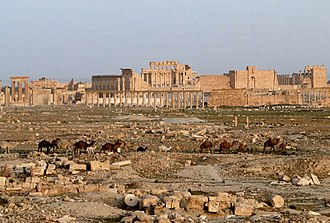 Palmyra - The ruins of Palmyra in 2010