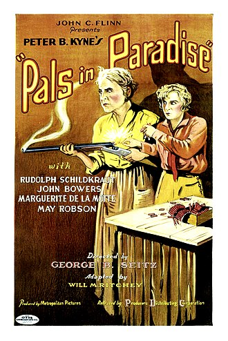 Pals in Paradise - Film poster