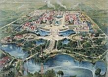 Veduta aerea dell'Esposizione Panamericana