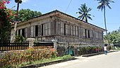 Bahay na bato houses of the Philippines.