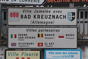 Bourg-en-Bresse - Twin town and partner cities