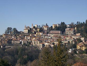 Brunate - Image: Panorama dalla Lucciola