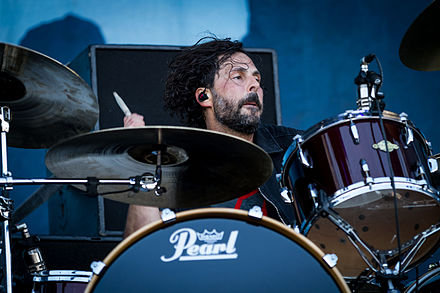 drummer Tony Palermo joined the band in 2007. Papa Roach - Rock am Ring 2015-9821.jpg