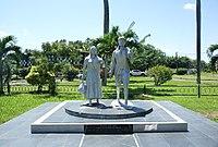Paramaribo - Kleine Combeweg - Baba en Mai 20160922.jpg