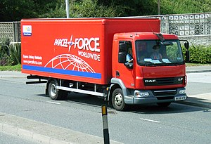 Parcelforce - Parcelforce delivery vehicle