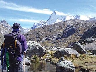 Pariacaca mountain range - Pariacaca, south peak