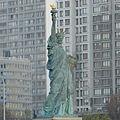 Paris 1 December 2012 - Statue of Liberty on the Île aux Cygnes (8).jpg