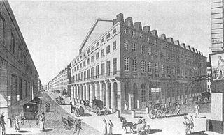 Théâtre National (rue de la Loi) former French theatre on the rue de Richelieu
