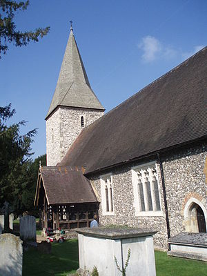 Old Windsor - Parish Church, Old Windsor – geograph.org.uk – 597441