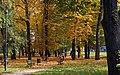 Park (autumn), Młodości Estate, Mogiła, Nowa Huta, Krakow, Poland.jpg