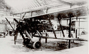 Parnall Scout - The Parnall Scout nearing completion in 1916.
