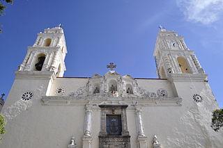 Calpulalpan City in Tlaxcala, Mexico