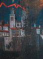 Particolare della cattedrale - Dipinto S. Irene della Sala consigliare del Comune di Altamura.png