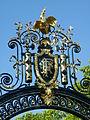 Partie haute de la grille du coq du Palais de l'Elysée.JPG