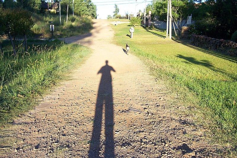 nicht parallele Schatten