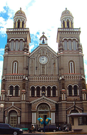 Passo Fundo - The Our Lady of Aparecida Cathedral in March 2014.