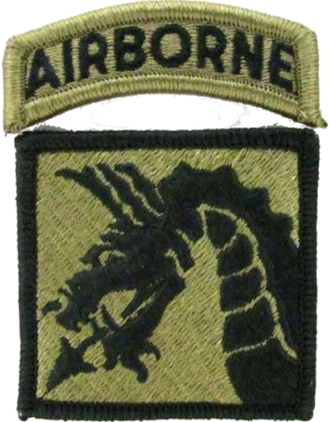 XVIII Airborne Corps - XVIII Airborne Corps shoulder sleeve insignia