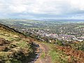 Path above the town - geograph.org.uk - 1010063.jpg