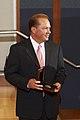 Paul Sagel with medal Innovation Day 2007.jpg
