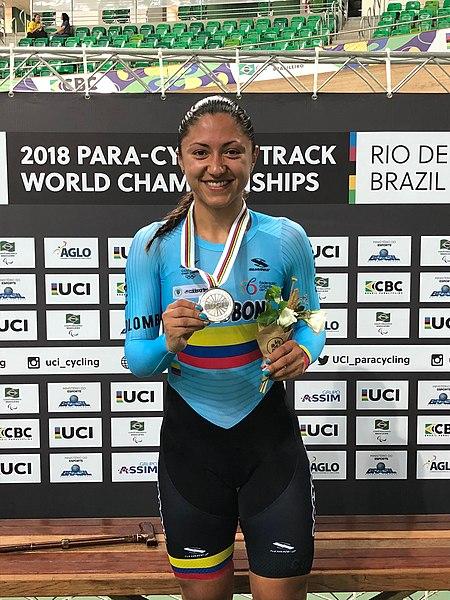 Archivo:Paula Ossa Veloza Medalla Plata 2018.jpg