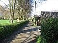 Paved driveway - geograph.org.uk - 784101.jpg