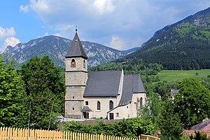 Payerbach - Parish church St. James the Greater
