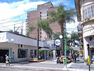 Concordia, Entre Ríos - Pedestrian Entre Ríos Street, Concordia.