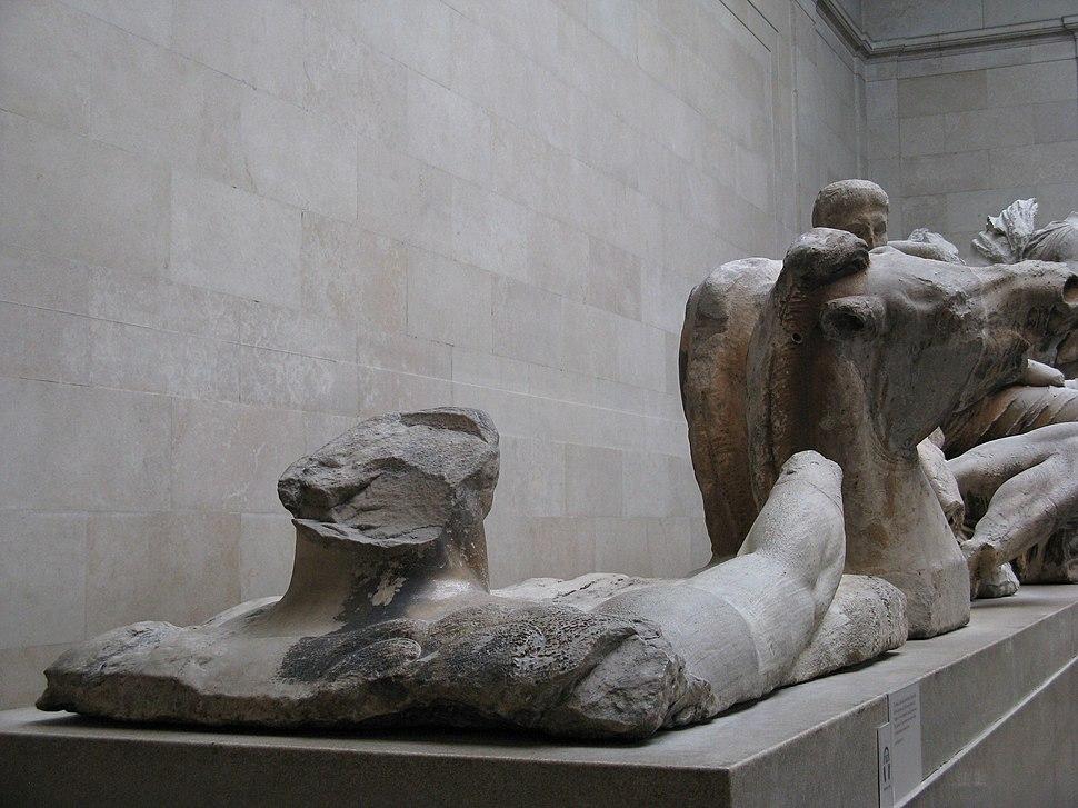 Pediments of the Parthenon-British Museum-3