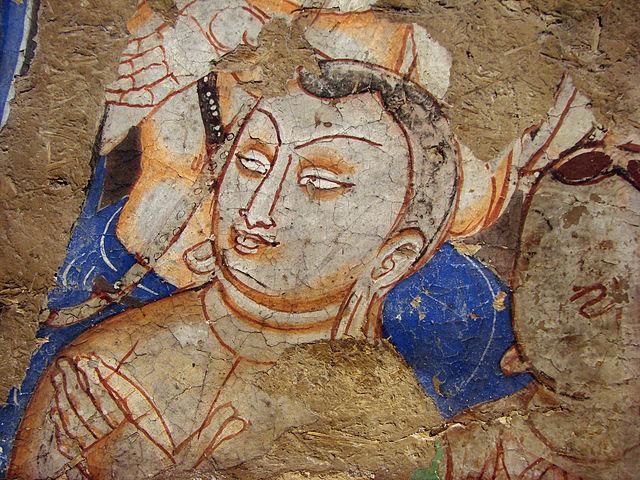 File peinture murale guimet 151107 wikimedia commons for Differents types de peinture murale