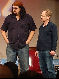 Penn & Teller American illusionists and entertainers