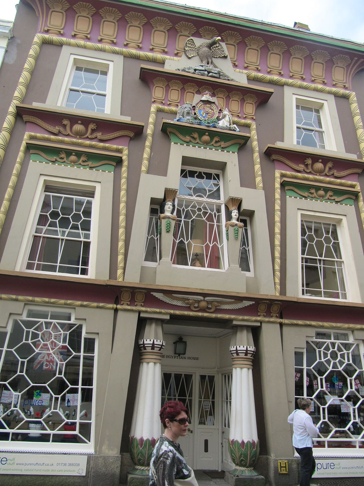 Egyptian Revival Architecture In The British Isles Wikipedia