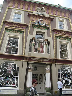 Penzance - The Egyptian house