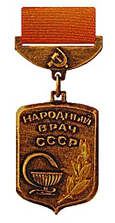 Peoples Doctor of the USSR award
