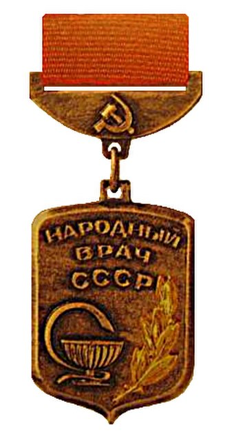 People's Doctor of the USSR - People's Doctor of the USSR insignia