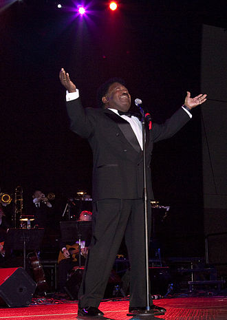 Percy Sledge - Sledge at the 2010 Alabama Music Hall of Fame Concert