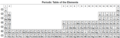 Periodic table (32-col, enwiki), black and white.png