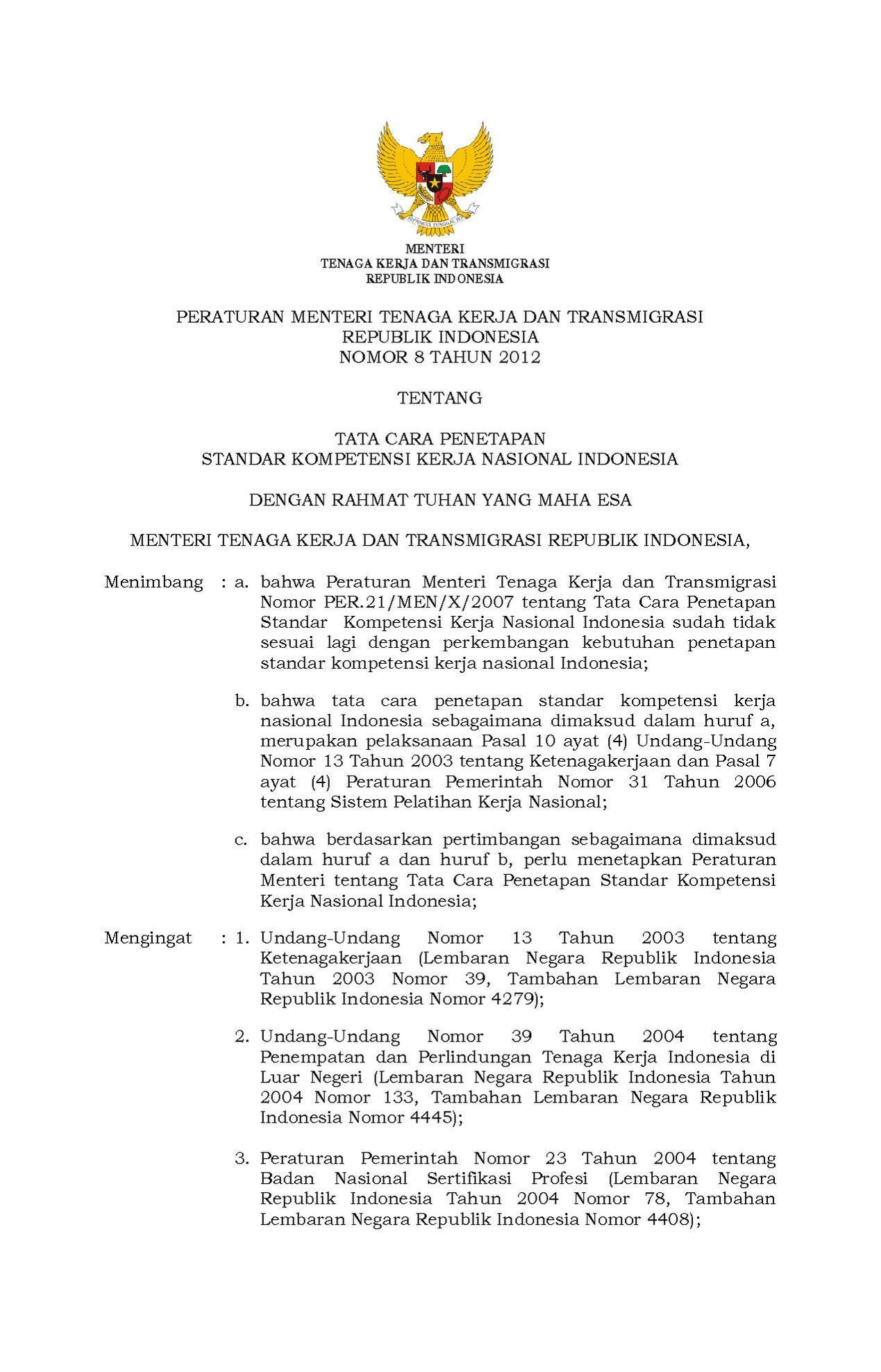 Image Result For Peraturan Pemerintah Nomor