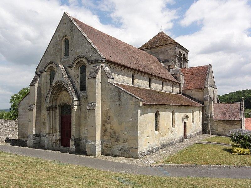 Église Saint-Léger de Pernant (Aisne)
