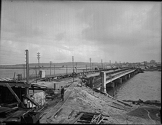 The Causeway - The Third Causeway Bridge under construction