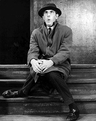 Peter Cook - Cook in the revue Beyond the Fringe