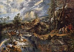 Peter Paul Rubens: Paisaje con Filemón y Baucis