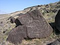 Petroglyphs at Map Rock near Marsing Idaho 3.jpg