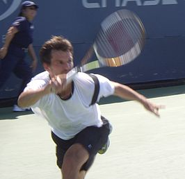 Philipp Petzschner op de US Open in 2007