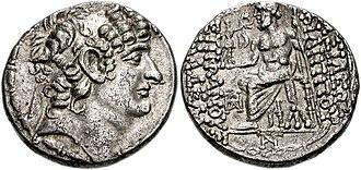 Philip I Philadelphus - Tetradrachm of Philip I minted in Cilicia